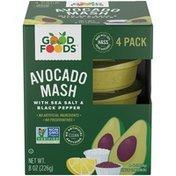 Good Foods Avocado Mash with Sea Salt & Black Pepper