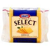 Kraft Cheese, Pasteurized Process, American American, Singles