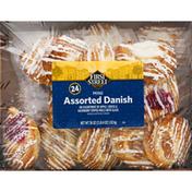 First Street Danish, Assorted, Mini