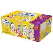 DanActive Light Strawberry/Vanilla Family Value Pack 3.1 Fl Oz DanActive Probiotic Dairy Drink