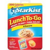 StarKist Ready To Eat Kit Albacore Tuna Salad StarKist Lunch To-Go Ready to Eat Kit Albacore Tuna Salad