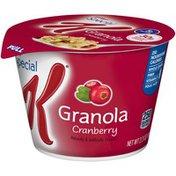 Kellogg's Special K Cranberry Granola