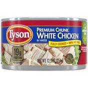 Tyson Premium Chunk White Chicken Breast