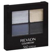 Revlon Eye Shadow, 16 Hour, Serene 560, ColorStay, Not Packed
