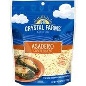 Crystal Farms Shredded Asadero Cheese