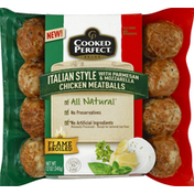 Cooked Perfect Meatballs, Chicken, Italian Style