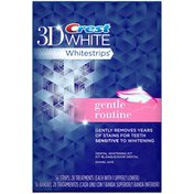 Crest Whitest Dly MultiCare Wht Sys Crest 3D White Whitestrips Gentle Routine - Teeth Whitening Kit 28 Treatments Whitening/Sensitivity