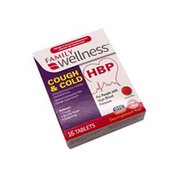 Family Wellness Cough & Cold Hbp Tablets