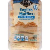First Street English Muffins, Sourdough