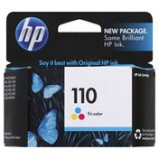 Hewlett Packard Ink Cartridge, Tri-Color 110