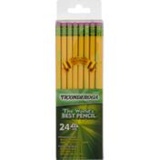 Ticonderoga Noir 2 Pencil - 24 CT