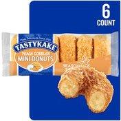 Tastykake Peach Cobbler Mini Donuts