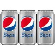 Pepsi Diet Cola 12 Fluid  Aluminum Can