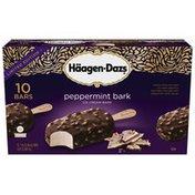 Haagen-Dazs Peppermint Bark Ice Cream Bars Multi-Pack