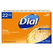 Dial Antibacterial Bar Soap, Gold