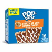 Kellogg's Pop-Tarts Toaster Pastries, Breakfast Foods, Baked in the USA, Chip Cookie Dough