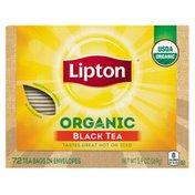 Lipton Tea Bags Organic Black Tea