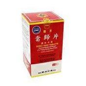 Lanzhou Traditional Herbs Dong Quai FU Fang Dang Gui Pian Sugar-Free Tablet
