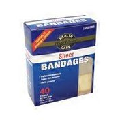 Best Choice Sheer Bandages