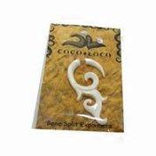 Coco Loco Jewelry Split Expander Bone Earring
