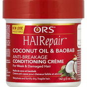 Ors Conditioning Creme, Anti-breakage, Coconut Oil & Baobab