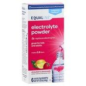 Equaline Electrolyte Powder, Strawberry Lemonade, Packets