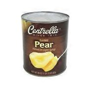 Centrella Pear Halves In Light Syrup