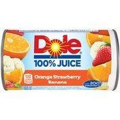 Dole 100% Juice Orange Strawberry Banana