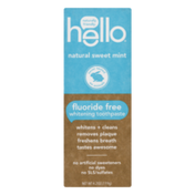 hello Toothpaste Natural Sweet Mint