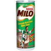 Milo's Chocolate Nutritional Energy Drink