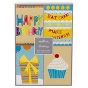 Hallmark Assorted Birthday Cards (No. 70) (Birthday Icons, 12 Cards and Envelopes)