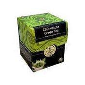 Buddha Teas CBD Green Matcha Tea Bag