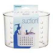 interDesign Suction! Holder Clear