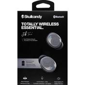 Skullcandy Earbuds, True Wireless, Chill Gray