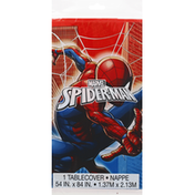 Unique Table Cover, Plastic, Marvel Spider-Man