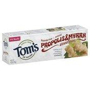 Tom's of Maine Toothpaste, Fluoride-Free, Propolis & Myrrh, Gingermint