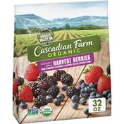 Cascadian Farm Organic Harvest Berries, Antioxidant Blend, Non-GMO