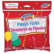 Special Value Plastic Forks
