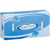 Springfield Two-Ply White Facial Tissues