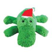Kong Co. Medium Holiday Cozie Alligator Dog Toy