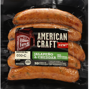 Hillshire Farm Sausage, Smoked, Jalapeno & Cheddar Cheese