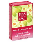 Kiss My Face Soap, Chamomile & Olive