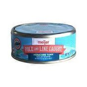 Meijer Pole And Line Caught Solid White Albacore Tuna In Water & Sea Salt
