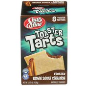 Shurfine Frosted Brown Sugar Cinnamon Toaster Tarts Pastries