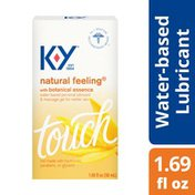 K-y® Natural Feeling Personal Lubricant & Massage Gel With Botanical Essence, Water Based Lube