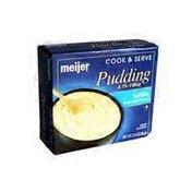 Meijer Vanilla Flavored Pudding & Pie Filling