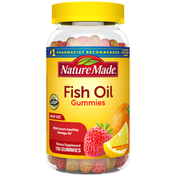 Nature Made Fish Oil Gummies with Omega 3s EPA & DHA† - Strawberry, Lemon & Orange