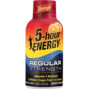 5-Hour Energy Dietary Supplement Regular Strength Orange