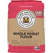 King Arthur Baking Company Whole Wheat Flour, 100% Whole Grain