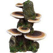 Penn-Plax Rock With Mushrooms Aquarium Ornament Large